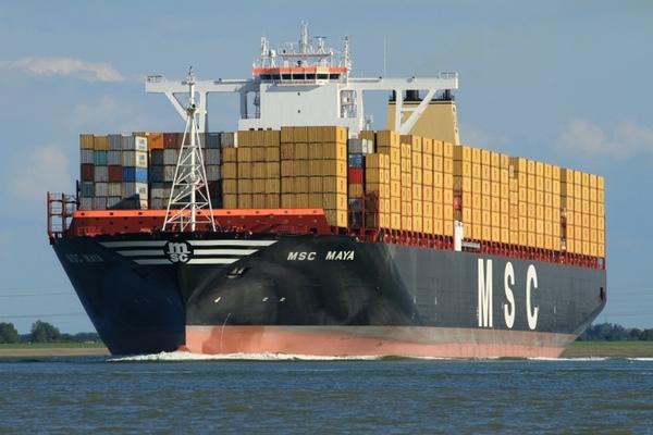 MSC Maya hace su primera llamada a puerto