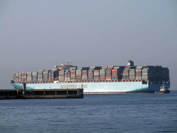 Maersk Edinburgh llega a Mexico