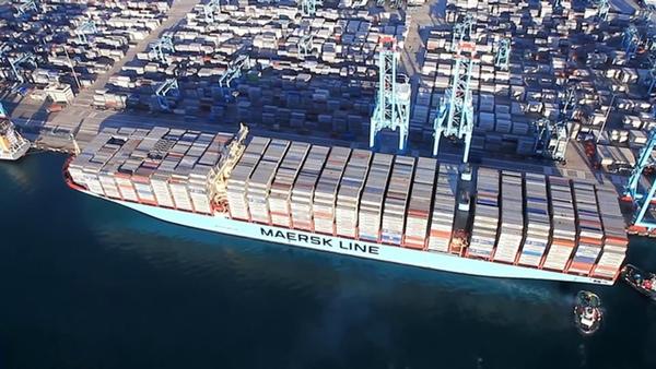 Maersk inaugura servicio en puerto de Rosario