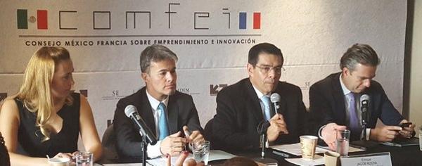 Mexico y Francia impulsan el emprendimiento y la innovacion