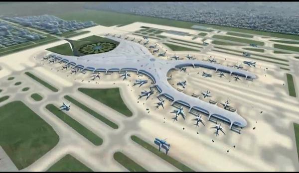 Nuevo aeropuerto de Mexico comienza su construccion