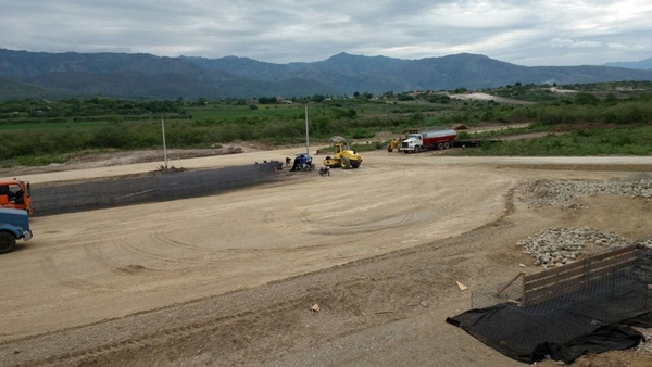 Peru avanza en la rehabilitacion del aerodromo de Jaen