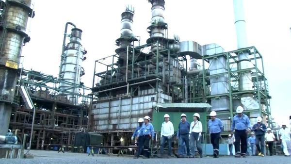 Petroecuador reactiva la refineria de Esmeraldas