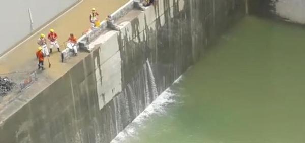 Reparacion de fugas de Canal de Panama finalizara en enero