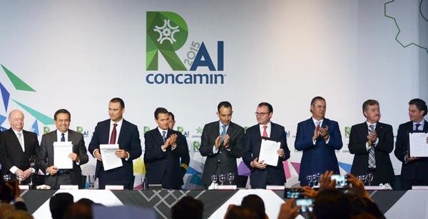 Secretaria de Economia interviene en reunion anual de CONCAMIN