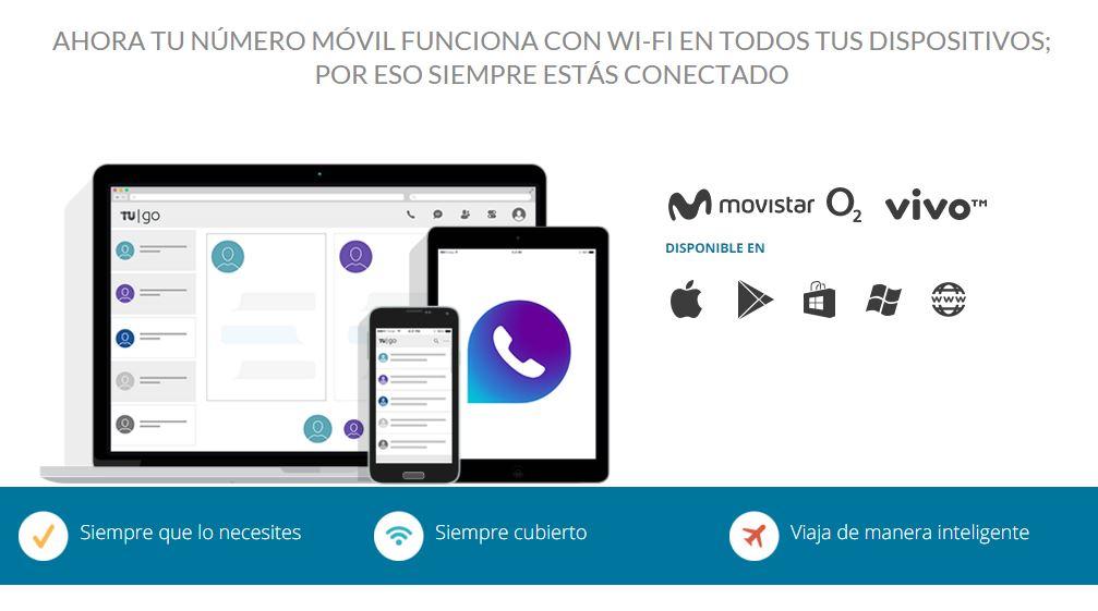 Telefónica permite llamadas sin señal con la app TU Go