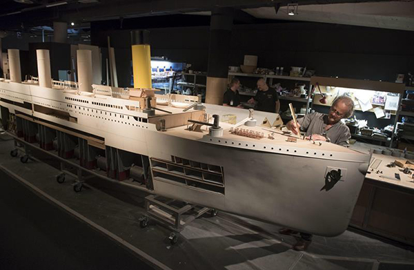 Titanic-maqueta-exposicion