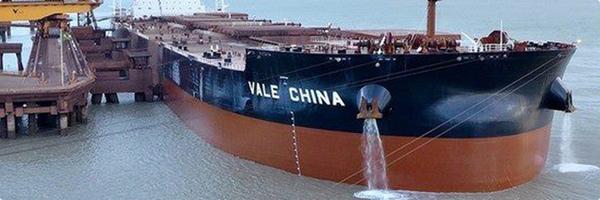 Vale podria vender buques Valemax
