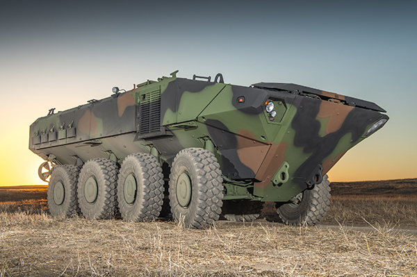 Vehiculo-de-Combate-Amphibious-de-Iveco-Defence-Vehicles