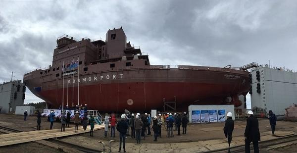 Vyborg Shipyard PJSC entrega un buque rompehielos
