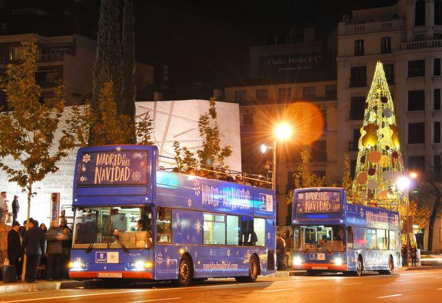 El Bus de la Navidad de la EMT estrena sistema de preventa de entradas