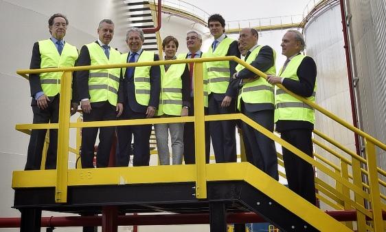 CLH abre nueva instalación en el puerto de Bilbao