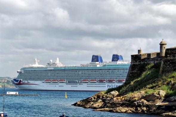 El puerto de La Coruña aumenta pasajeros de cruceros un 8%
