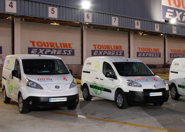 Tourline Express adquiere 7 vehículos eléctricos