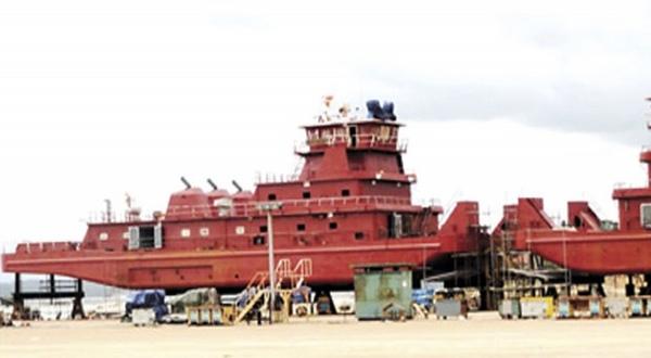 Bolivia recibira finalmente sus barcazas