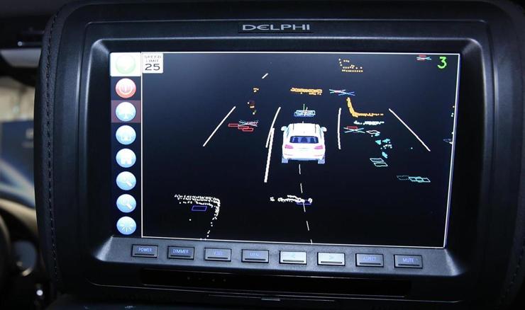 Delphi-plans-driverless-car