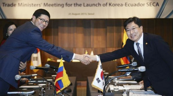 Ecuador busca acuerdo comercial con Corea del Sur