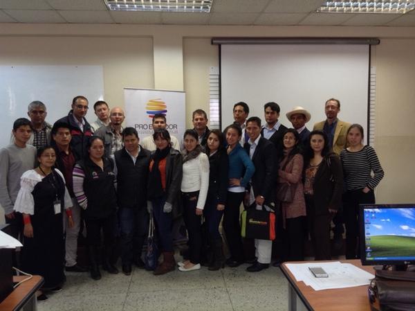 Ecuador forma a las pymes para la exportacion