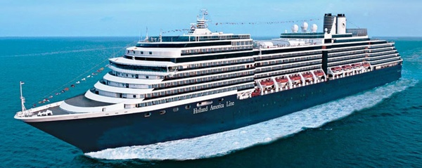 Holland America Line realiza pruebas de su nuevo buque