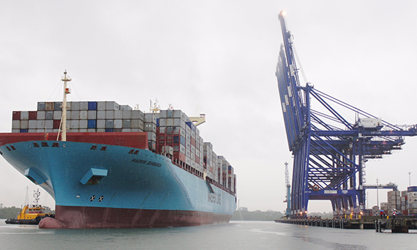 Maersk-Edimburgo-buque