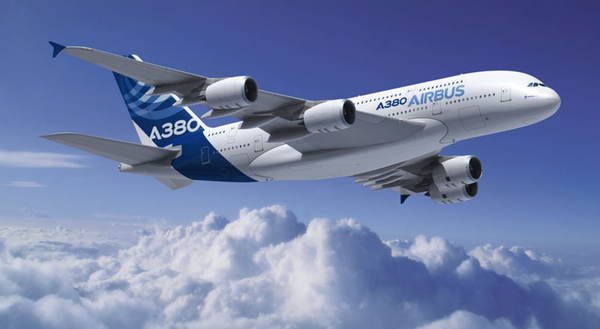 Mexico recibe al avion mas grande del mundo