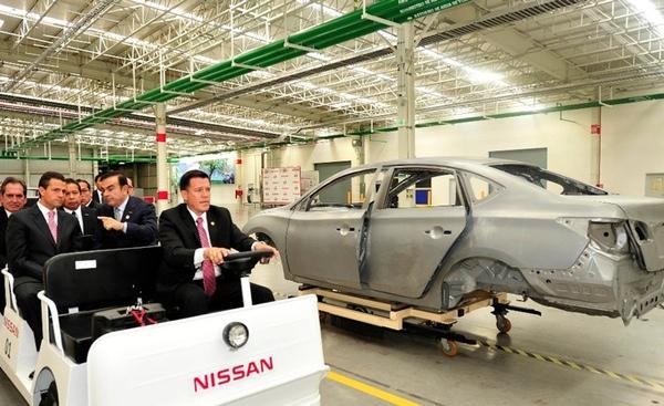 Nissan bate record de produccion en Mexico