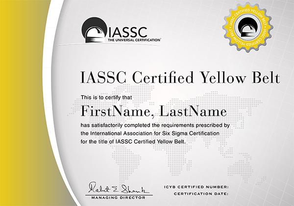 certificado-Lean-Yellow-Belt