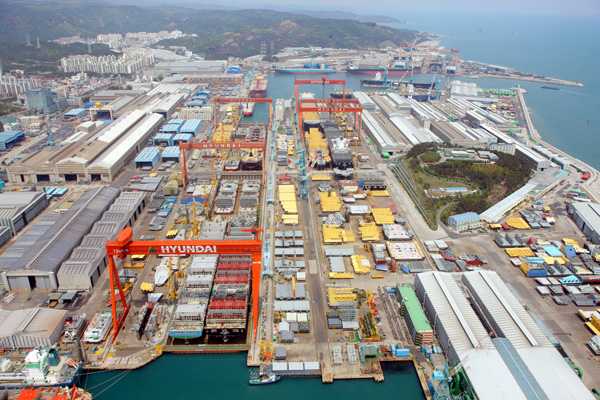 Astillero HHI construira dos nuevos buques