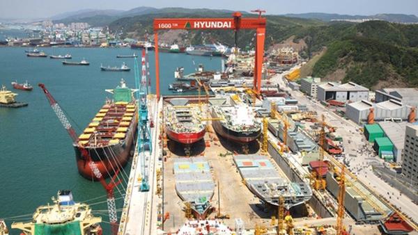 Astilleros surcoreanos no reciben pedidos en enero
