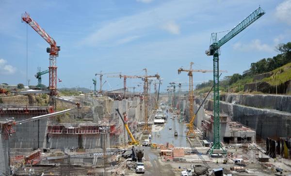 Canal de Panama podria inaugurarse sin haber finalizado la obra