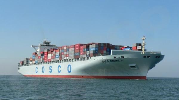 China COSCO aumentara su capacidad