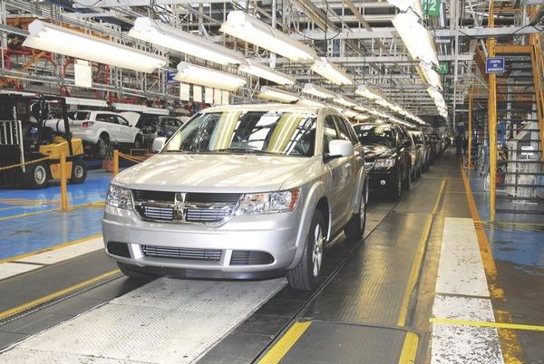 Chrysler reforma su planta de Toluca (Mexico)