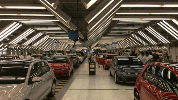 Exportaciones mexicanas de Volkswagen caen en enero