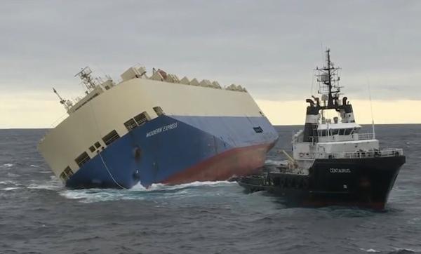 Francia y Espana rescatan con exito el Modern Express