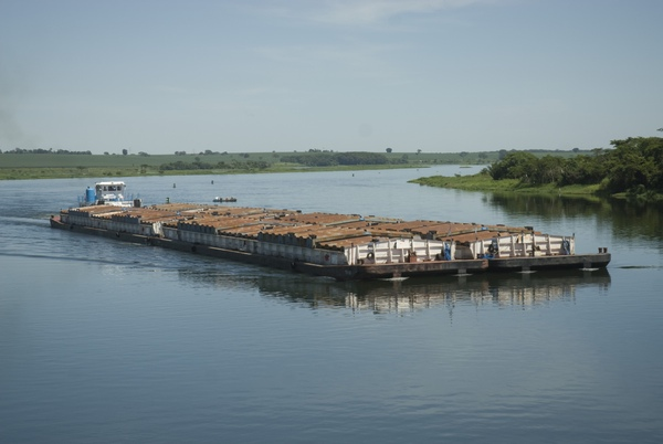 Hidrovia Tiete-Parana vuelve a estar activa