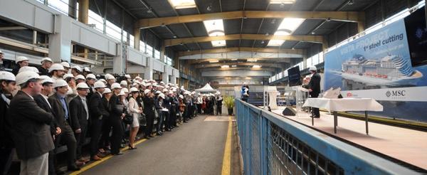 MSC Cruceros encarga dos nuevos buques