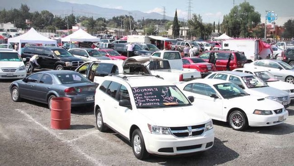 Mexico reduce la importacion de vehiculos de segunda mano