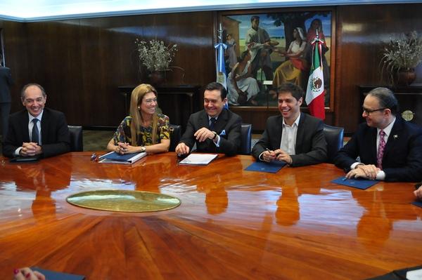 Mexico y Argentina negociaran para mejorar comercio bilateral