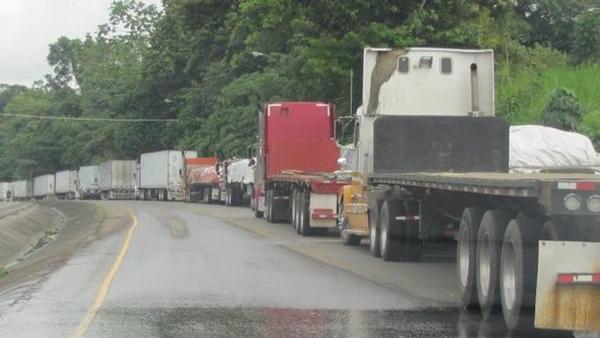 Panama busca una solucion al conflicto con los transportistas
