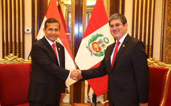 Paraguay y Peru refuerzan su colaboracion