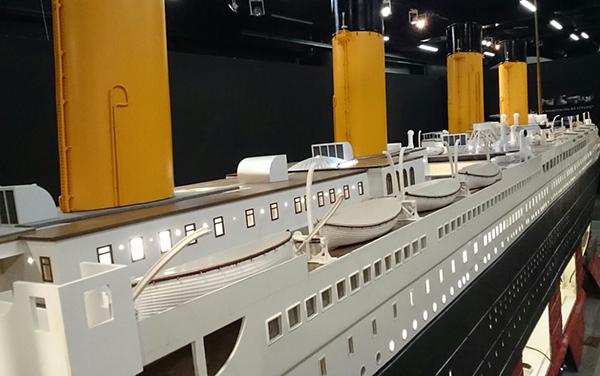Titanic-botes-maqueta