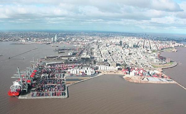 Uruguay sube las tasas del puerto de Montevideo