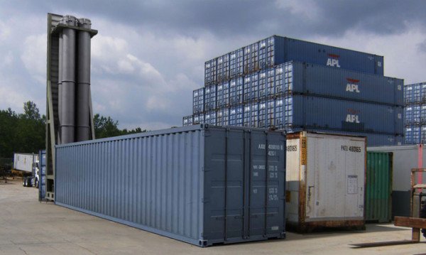 pesaje de contenedores