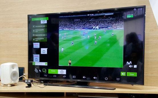 Telefónica presenta su TV Social en el Mobile World Congress