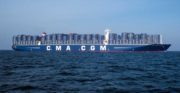 CMA CGM incorpora mega buques a la ruta Pearl River Express
