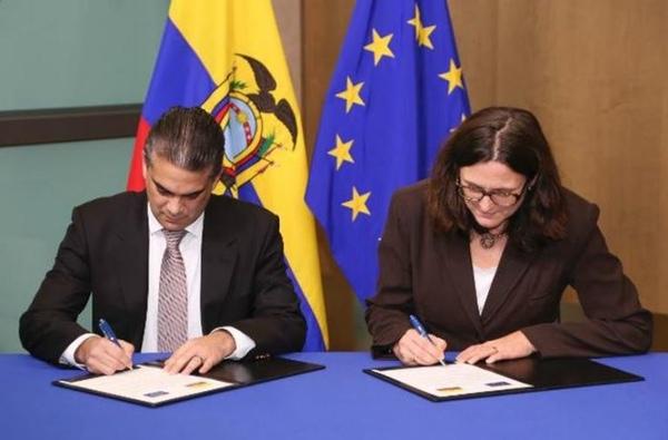 Ecuador y la Union Europea pueden firmar acuerdo comercial en septiembre