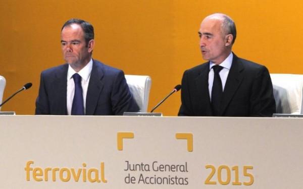 Ferrovial Junta de accionistas 2015