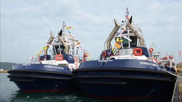 Panama prepara sus remolcadores para apertura del Canal