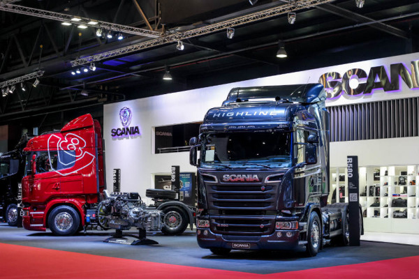 Scania-stand