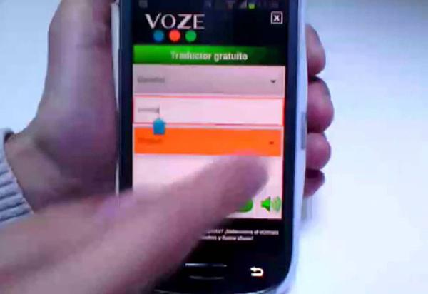 Voze-traductor-app